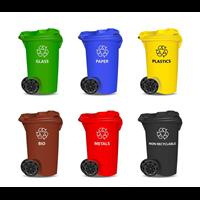 塑料分类垃圾桶批发 塑料垃圾桶价格