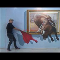 尤溪贵建筑绘画_尤溪墙体彩绘_旅游景点壁画墙绘