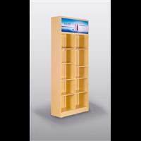 创先正品实木配件柜可定制