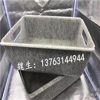 专业加工高硬度毛毡热压 收纳盒模压成型
