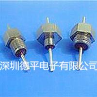 德平M6高压陶瓷穿心电容直流馈通滤波器