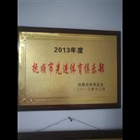 抚顺市国翼羽毛球俱乐部 荣誉展示
