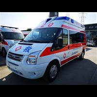 广州救护车院后护送