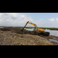 甘肅|水上挖機租賃|價格