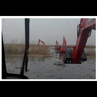 水上挖掘机租赁_重庆水上挖掘机租赁