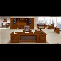 办公家具大班台老板桌椅简约现代总裁桌经理主管班卓