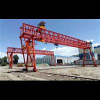 湖北荆州龙门吊采用加厚钢板