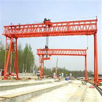 山东济宁40吨龙门吊租赁厂家贡献祖国