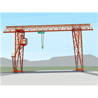 山西晋城80吨龙门吊厂家设备噪声低