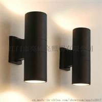 酒店客房走廊过道大堂墙壁双头圆形壁灯