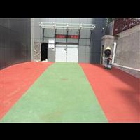 西安市公安检查站陶瓷颗粒防滑路面工程案例