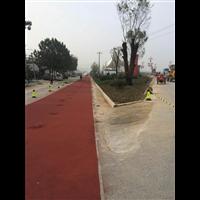 商洛312国道陶瓷颗粒路面工程案例