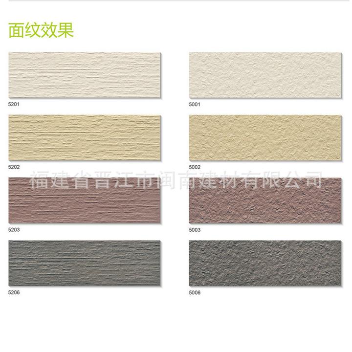 厂家供应福建通体外墙砖 优质晋江外墙通体砖