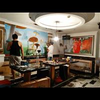 湖南郴州KTV繪畫,手繪,壁畫