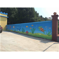 專業提供手繪壁畫_專業畫3D壁畫