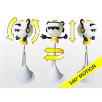 商场室内外儿童虚拟现实设备熊猫头 VR体验馆设备升降式自助影院