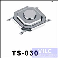 1.5H/2.0H/3.0H/5.0H防水型轻触开关TS-030