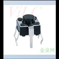 外壳带引脚-TS-037A/4P插件 防水型轻触开关
