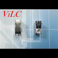 侧插式短体USB卷边母座 3P侧立 Y型脚插件 有后盖A母