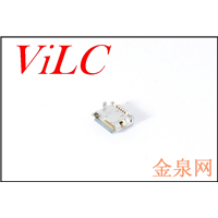 MICRO 5P卷边母座 5.9 有柱1.0(LCP米黄)