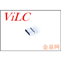 MICRO 5P母座 全贴平口 1.0有柱 黑色LCP 编带包装