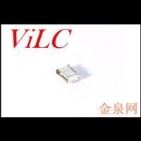 MICRO 5P全贴母座 直边/平口 (LCP米黄胶)编带