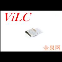 MICRO 5P全贴母座 直边/平口(外壳加长)镀金端子