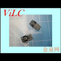 短体MICRO公头 双面前五后四焊线 线端安卓插头