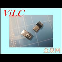 MICRO 5P超溥前五后五 双面焊线MK插头 安卓充电公头