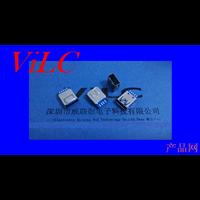 USB厂家供应-焊线式USB3.0母座-带铁壳护套/编带包装