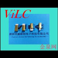 焊线式短体USB-B型公头/镀金外壳-BM一体式 耐拔插