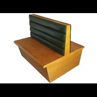 龙岗众美德餐厅沙发卡座定制厂家生产单排卡座沙发,双面卡座沙发