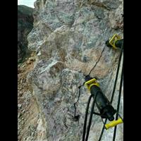 广东露天矿山开采代替放炮设备/载式矿用劈裂机/劈裂棒