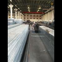 鍍鋅帶方管_廠家現貨鍍鋅帶方矩管 薄壁鍍鋅帶方管