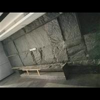 福建芝麻黑自然面背景墙