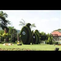 创意绿雕造型