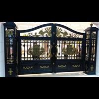 欧式别墅庭院大门北京铸铝别墅进户大门图片别墅大门厂家