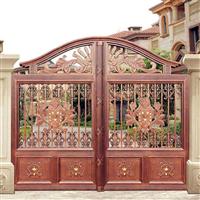 中式別墅大門設計新鄉牧野區花園庭院大門