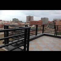 别墅围墙护栏天津河东区铝合金庭院大门供应生产厂家