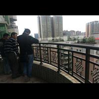 铝合金护栏北京顺义区别墅围墙大门供应定制