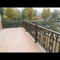 别墅围墙护栏北京丰台区庭院铝艺大门供应厂家