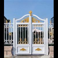 别墅护栏北京海淀区铝艺庭院大门供应厂家