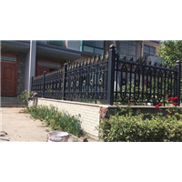 围墙护栏天津和平区铝艺庭院大门供应生产厂家