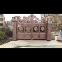 铸铝别墅大门铝艺庭院护栏丹东凤城供应厂家