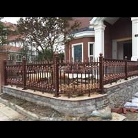 铸铝别墅大门花园草坪护栏营口大石桥供应生产厂家