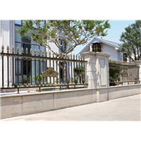 鄂爾多斯達拉特旗圍墻大門庭院護欄供應定制