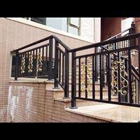揚州市轄區庭院鋁藝大門花園草坪護欄供應定制