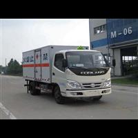 福田奥铃5米13易燃液体厢式运输车