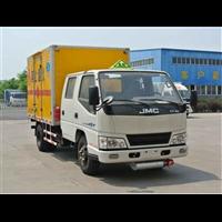 江铃国五双排易燃液体厢式ω运输车产
