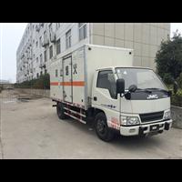 江铃3.1米易∩燃液体厢式运输车